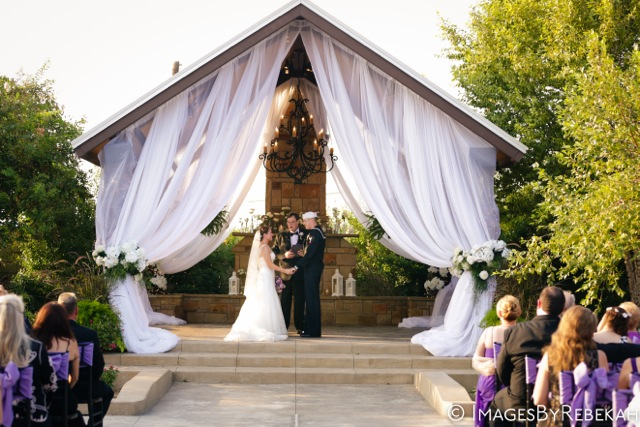 Ashley & John: A Dreamy Garden Wedding