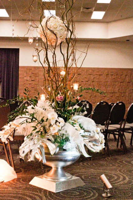New Year's Eve Wedding, Flowers by Special Occasions by Vicki