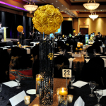 Yellow & Black Tie Gala - Flowers by Special Occasions by Vicki